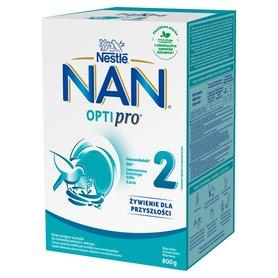 NAN OPTIPRO 2 Mleko następne dla niemowląt powyżej 6. miesiąca 800 g (2 x 400 g)