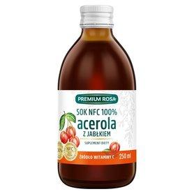 Premium Rosa Suplement diety sok NFC 100% acerola z jabłkiem 250 ml
