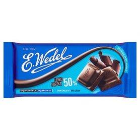 E. Wedel Czekolada lekko gorzka 50% 100 g