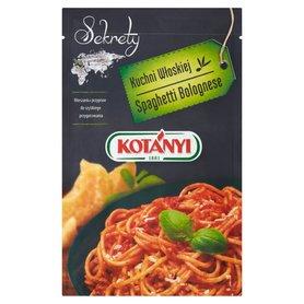 Kotányi Sekrety Kuchni Włoskiej Spaghetti Bolognese Mieszanka przypraw 19 g