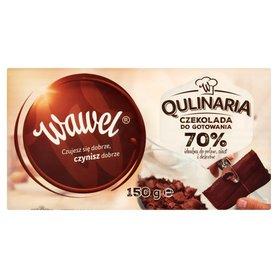 Wawel Qulinaria Czekolada do gotowania 70% 150 g