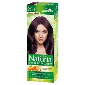 Joanna Naturia color Farba do włosów śliwkowa oberżyna 234