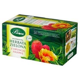 Bifix Herbata zielona ekspresowa z opuncją figową 40 g (20 x 2 g)
