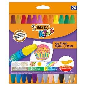 BiC Kids Pastele olejne 24 kolory