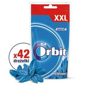 Orbit Peppermint Guma do żucia bez cukru 58 g (42 drażetki)