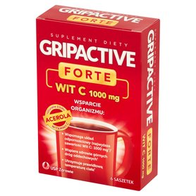 Gripactive Forte Suplement diety 17,1 g (6 x 2,85 g)