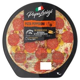 Papa Luigi Pizza pepperoni 400 g