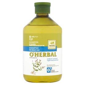 O'Herbal Szampon do włosów przetłuszczających się z ekstraktem z mięty 500 ml