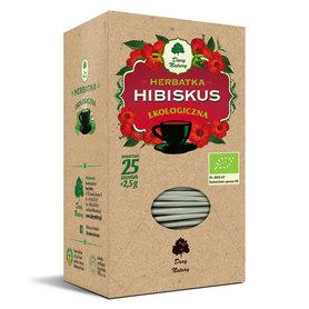 HERBATA HIBISKUS BIO (25 x 2,5 g) 62,5 g - DARY NATUR