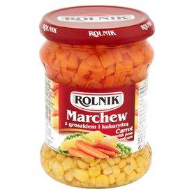Rolnik Marchew z groszkiem i kukurydzą 460 g