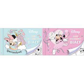 Beniamin Blok rysunkowy A4 Minnie Mouse biały