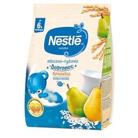 Nestlé Kaszka dobranoc mleczno-ryżowa gruszka dla niemowląt po 6. miesiącu 230 g