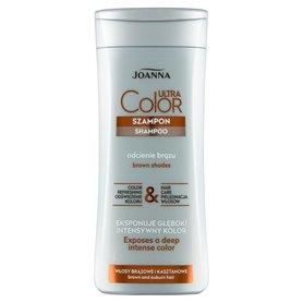Joanna Ultra Color Szampon włosy brązowe i kasztanowe 200 ml
