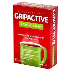 Gripactive Zatoki i nos Suplement diety 6 saszetek