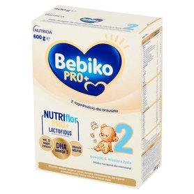 Bebiko Pro+ 2 Mleko następne dla niemowląt powyżej 6. miesiąca życia 600 g