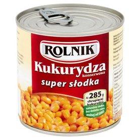Rolnik Kukurydza konserwowa super słodka 340 g