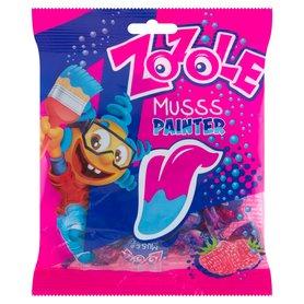 Zozole Musss Painter Cukierki barwiące język o smaku malinowym 75 g
