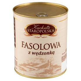 Kuchnia Staropolska Fasolowa z wędzonką 800 g