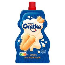 Danone Gratka Jogurt o smaku biszkoptowym 65 g