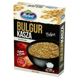 Melvit Premium Kasza bulgur 400 g (4 x 100 g)