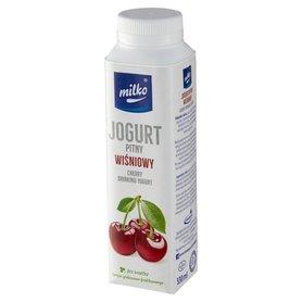 Milko Jogurt pitny wiśniowy 330 ml