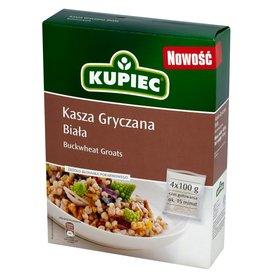 Kupiec Kasza gryczana biała 400 g (4 torebki)