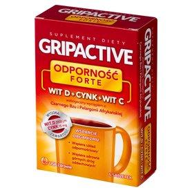 Gripactive Odporność Forte Suplement diety 18 g (6 x 3 g)