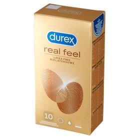 Durex Real Feel Prezerwatywy nielateksowe 10 sztuk