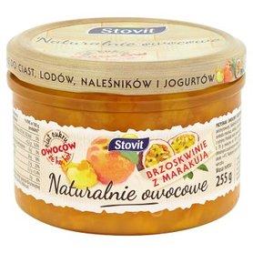 Stovit Naturalnie owocowe Brzoskwinie z marakują 255 g