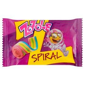 Zozole Spiral Tęczowe żelki o smaku truskawkowym 19 g