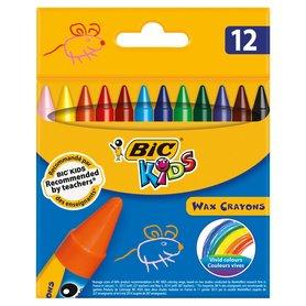 BiC Kids Kredki świecowe 12 kolorów