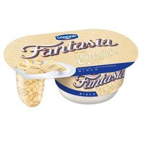 Fantasia biała Jogurt kremowy z kawałkami białej czekolady 103 g
