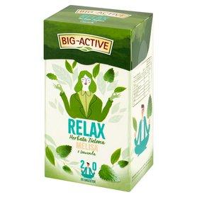 Big-Active Relax Herbata zielona melisa z lawendą 30 g (20 x 1,5 g)