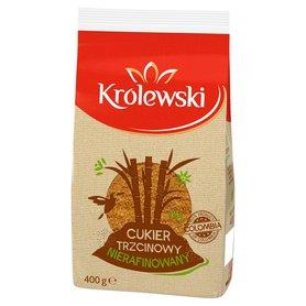 Cukier Królewski Cukier trzcinowy nierafinowany 400 g