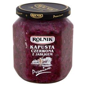 Rolnik Premium Kapusta czerwona z jabłkiem 540 g