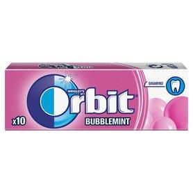 Orbit Bubblemint Guma do żucia bez cukru 14 g (10 drażetek)