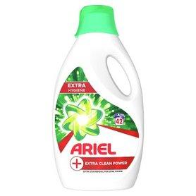 Ariel +Extra Clean Power Płyn do prania, 42 prań