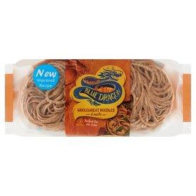 Blue Dragon Makaron pszenny z mąką pełnoziarnistą 300 g