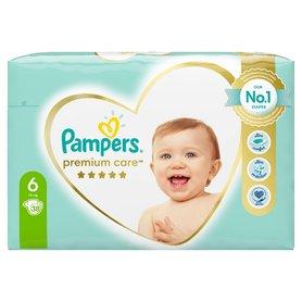 Pampers Premium Care, Rozmiar 6, 38 Pieluszki, 13kg+