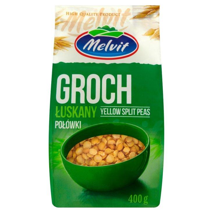 Melvit Groch łuskany połówki 400 g (1)