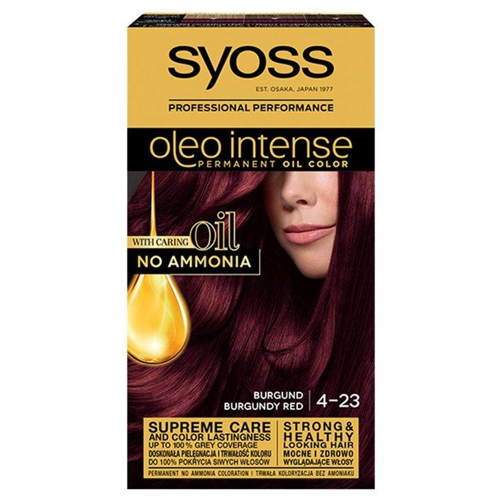 Syoss Oleo Intense Farba do włosów burgund 4-23 (1)