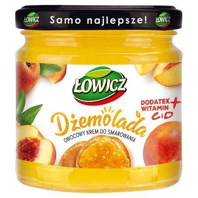 Łowicz Dżemolada Owocowy krem do smarowania żółty 200 g (1)