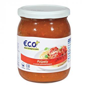 €.C.O.+  Pulpety w sosie pomidorowym 500g (1)
