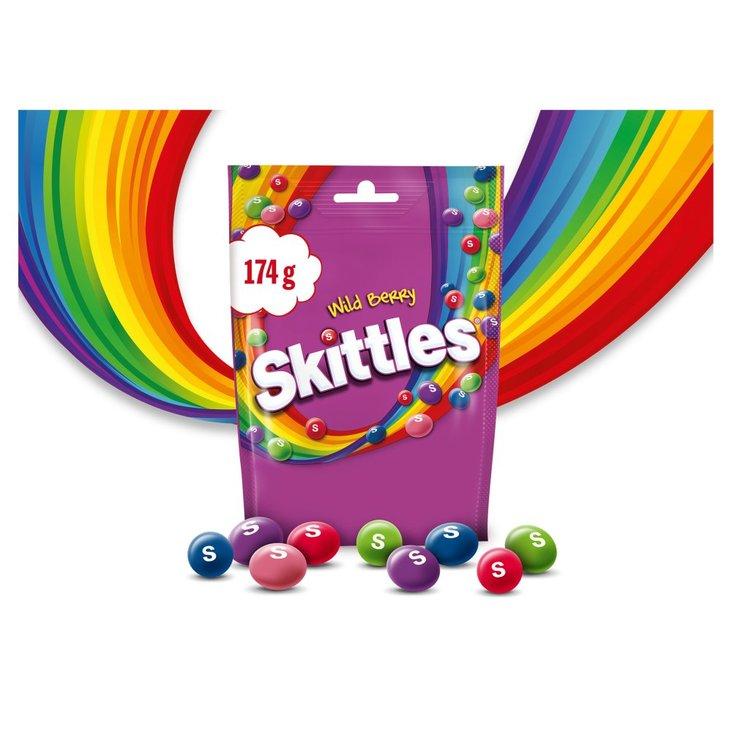 Skittles Wild Berry Cukierki do żucia 174 g (142 cukierki) (1)