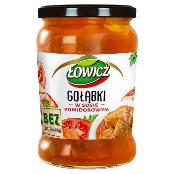 Łowicz Gołąbki w sosie pomidorowym 580 g (1)