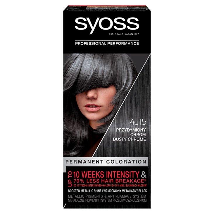 Syoss Farba do włosów przydymiony chrom 4-15 (1)
