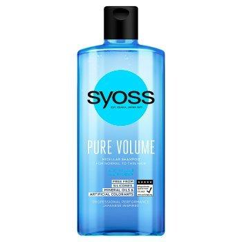 Syoss Pure Volume Szampon 440 ml (1)