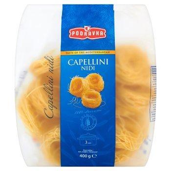 Podravka Smak kuchni śródziemnomorskiej Capellini Nidi Makaron Gniazda nitki 400 g (1)