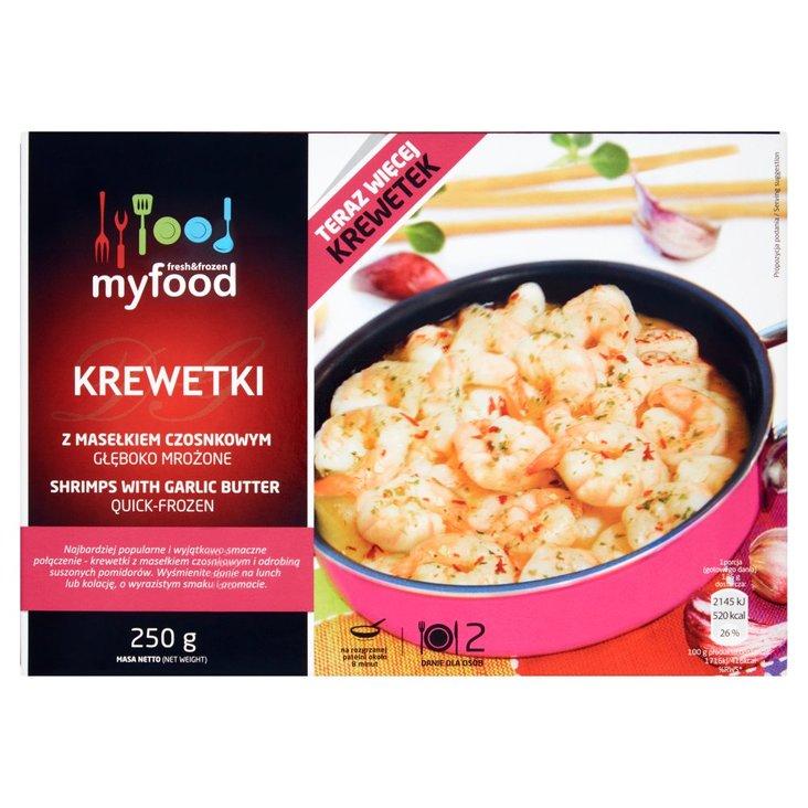 MyFood Krewetki z masełkiem czosnkowym 250 g (1)