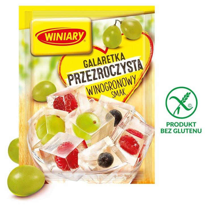 Winiary Galaretka przezroczysta winogronowy smak 71 g (1)